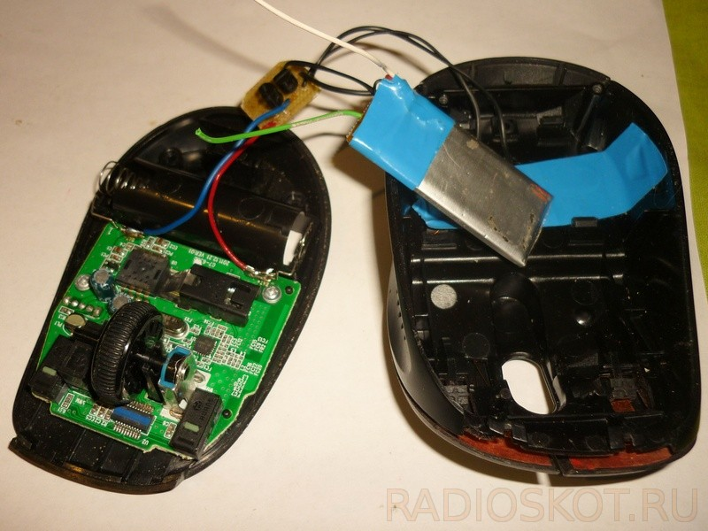 Проводная мышь из беспроводной своими руками