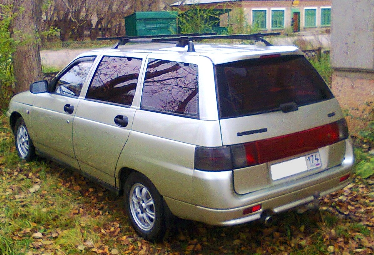 езжу на ВАЗ-2111