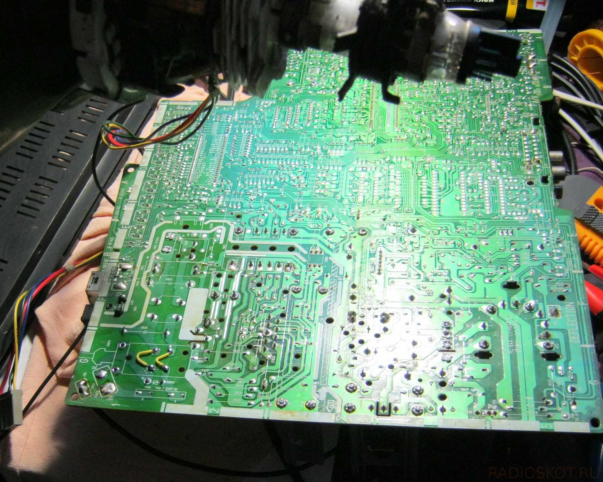 Ремонт старого телевизора