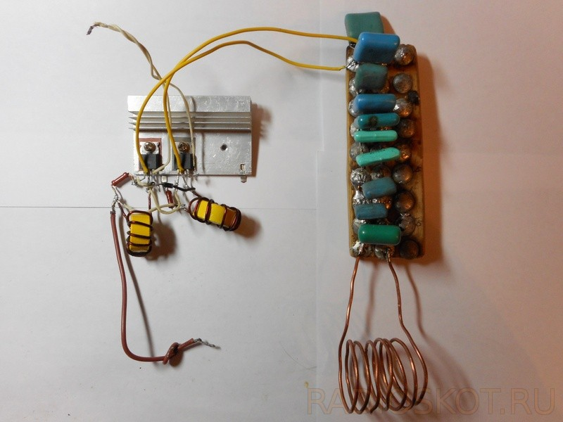 Как сделать мощный индукционный нагреватель своими руками