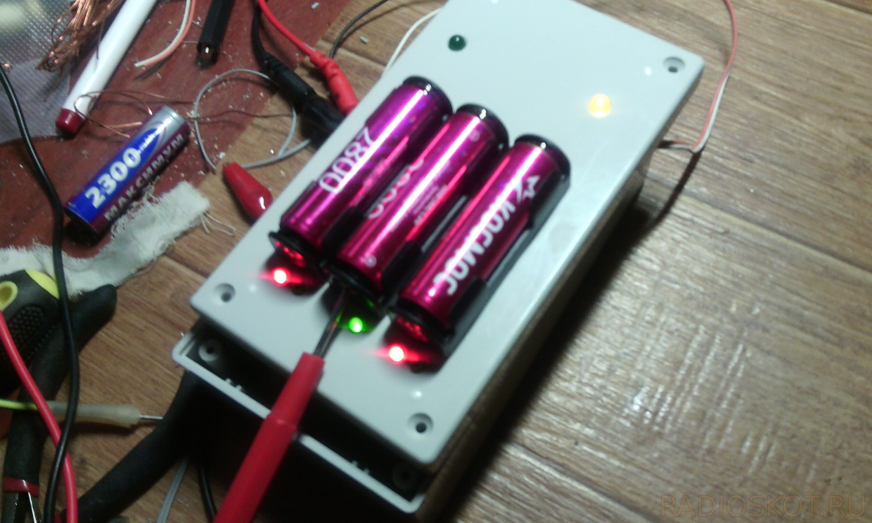 Зарядка телефона от одной батарейки своими руками