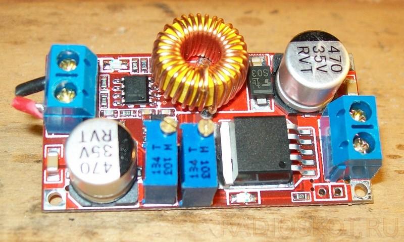 модуль регулировки напряжения с ограничением тока