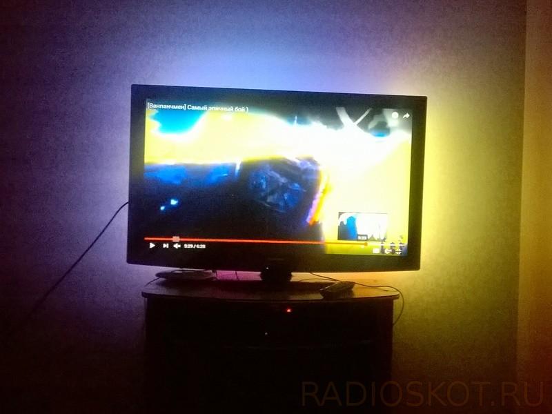 светодиодную заднюю подсветку у телевизора
