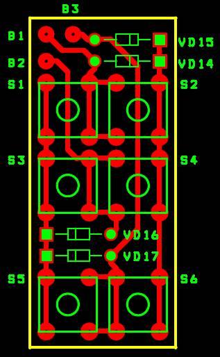 ...схема десятиразрядная наглядная индикация металлоискатель clone pi w Вот моя плата транзисторы 2n5551 конденсатор...