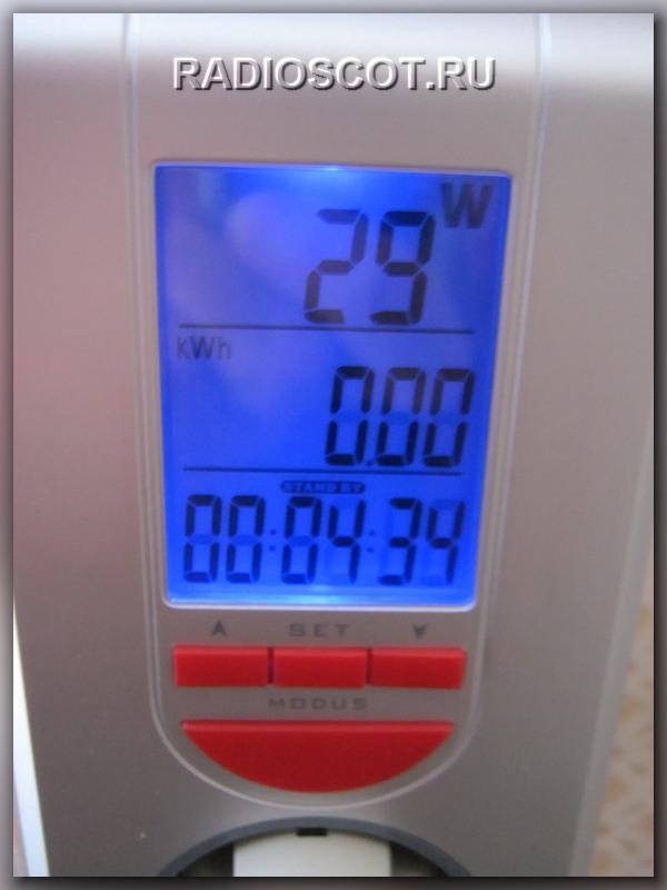 Измерение мощности ватметром