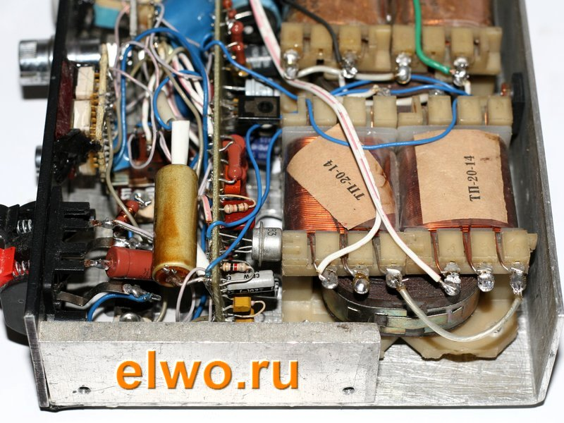 Два трансформатора в любительском бп