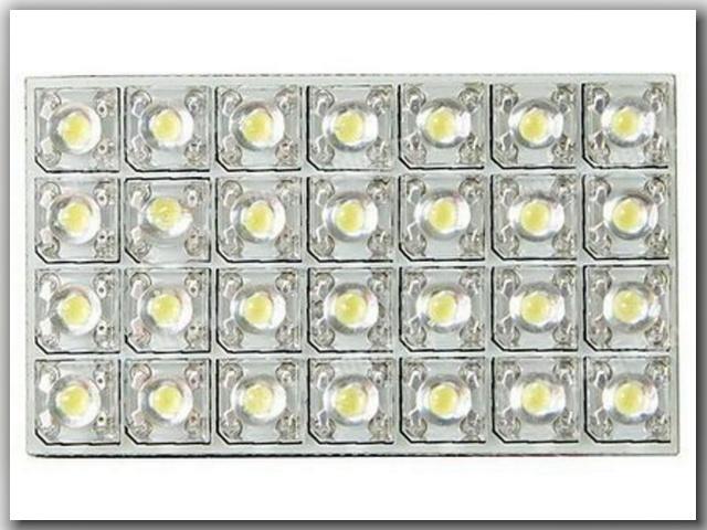 светодиодных панелей