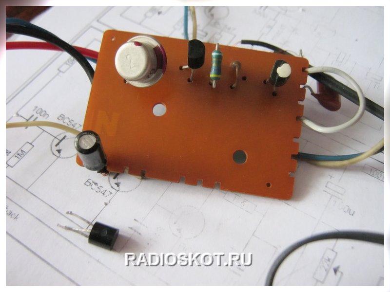 Германиевые транзисторы в lt b gt усилителе lt b gt с