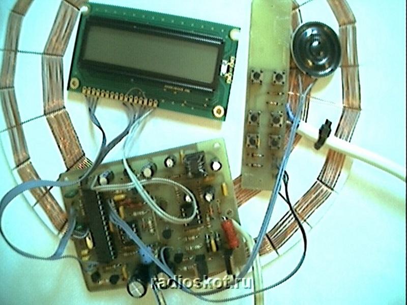 Схемы металлоискателей на микроконтроллере.