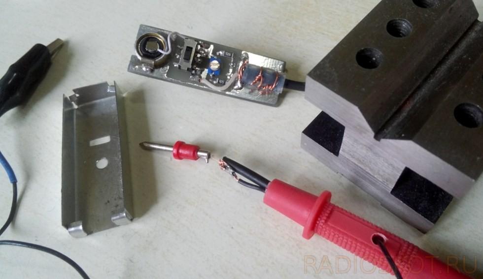 Щуп делитель для осциллографа своими руками
