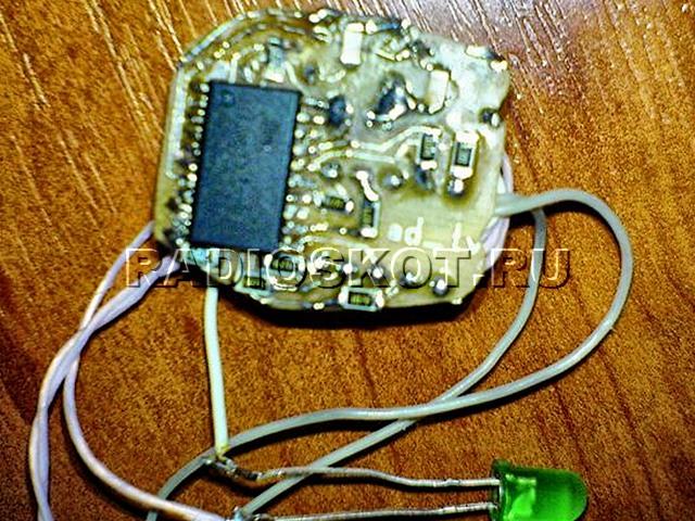 Печатная плата и контроллер Самодельного ключа для домофонов
