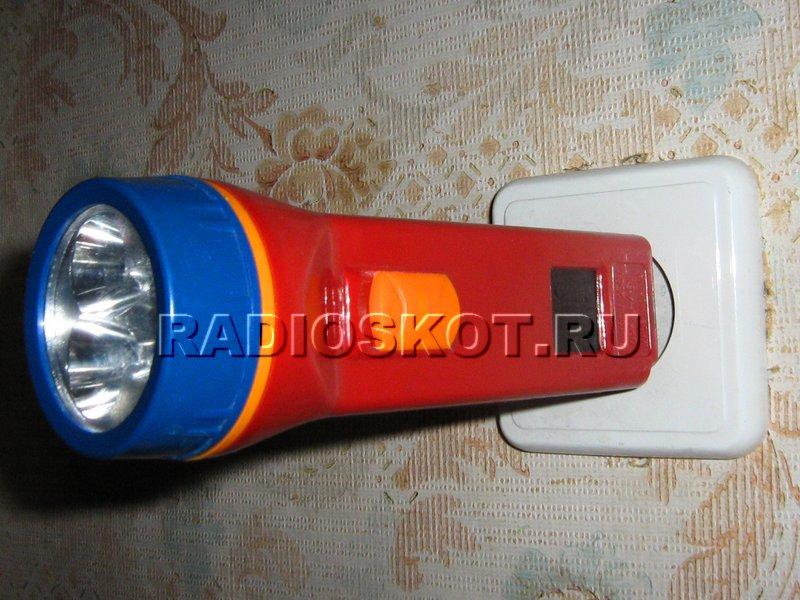 Аккумуляторный фонарь своими