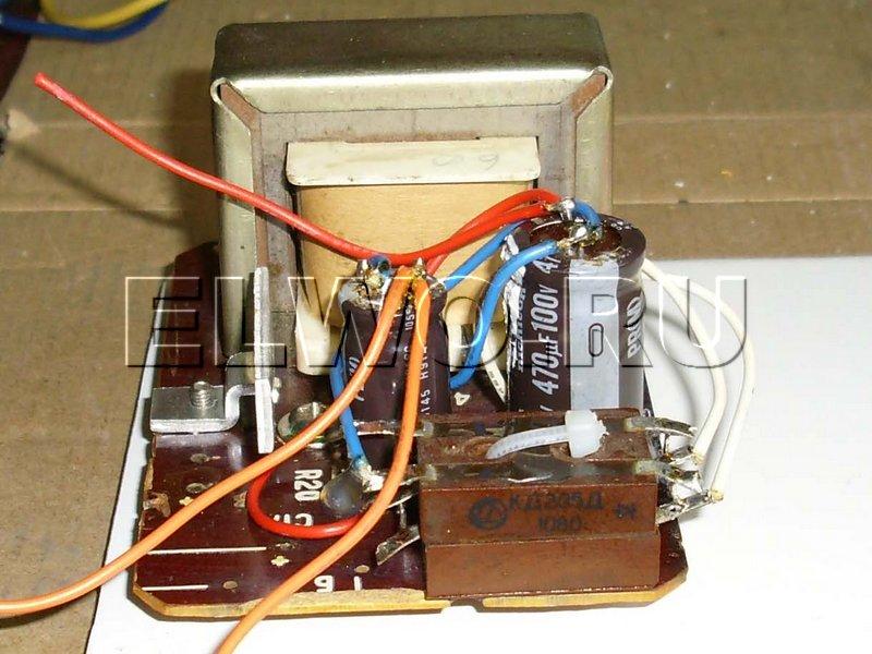 Блок питания 12в. своими руками из блока от старого компьютера