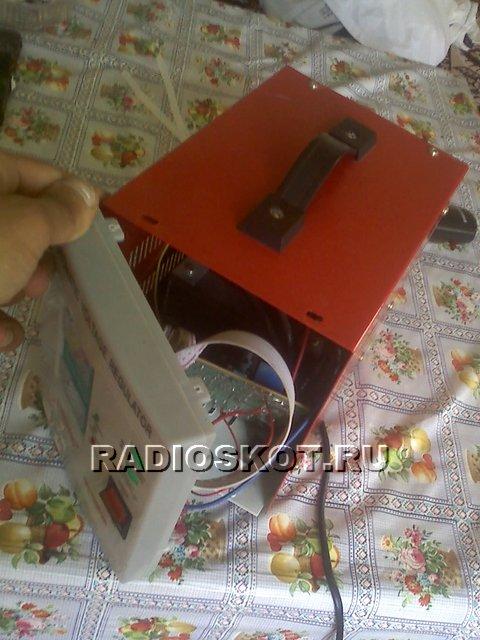 Корпус для самодельного зарядного устройства аккумулятора.