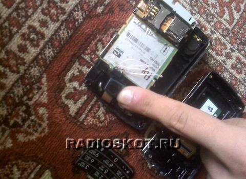 Скрытая видеокамера из старого мобильника