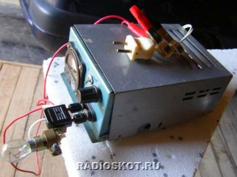 Восстановительно зарядное устройство