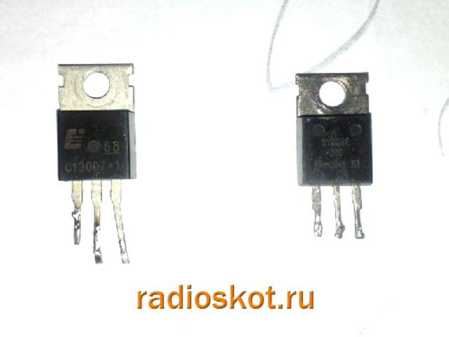 следует транзистор