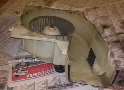 Ионизатор воздуха - моторчик и корпус
