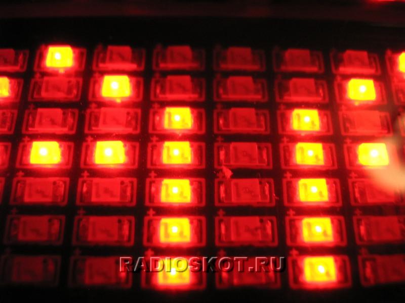 Красные светодиоды