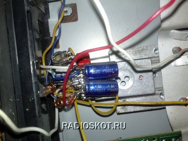 USB порт от модулятора удлинен