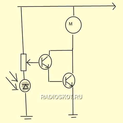 лишь составной транзистор