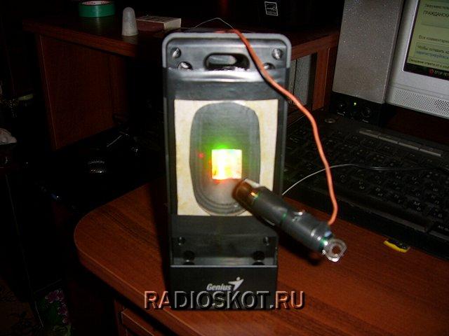 самодельного лазерного шоу