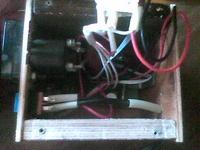 корпус самодельного зарядного устройства.