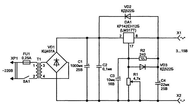 7294 простые схемы зарядных устройств и.