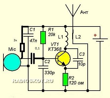 Как найти радио схему