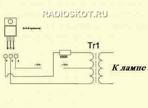 Для проверки транзистора, его