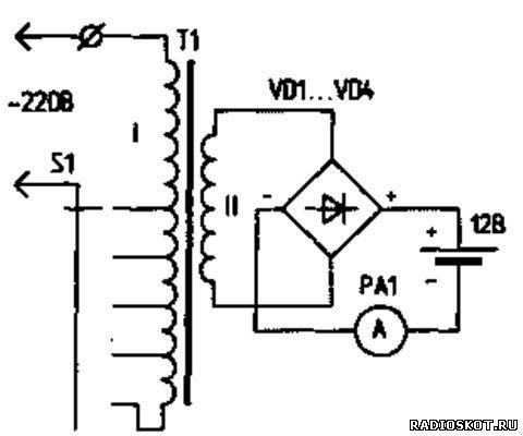 Выпрямитель с регулировкой напряжения-тока