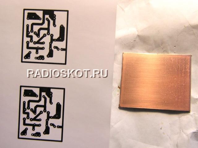 транзисторного усилителя к