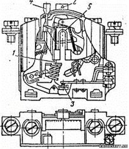 Рисунок устройство теплового реле