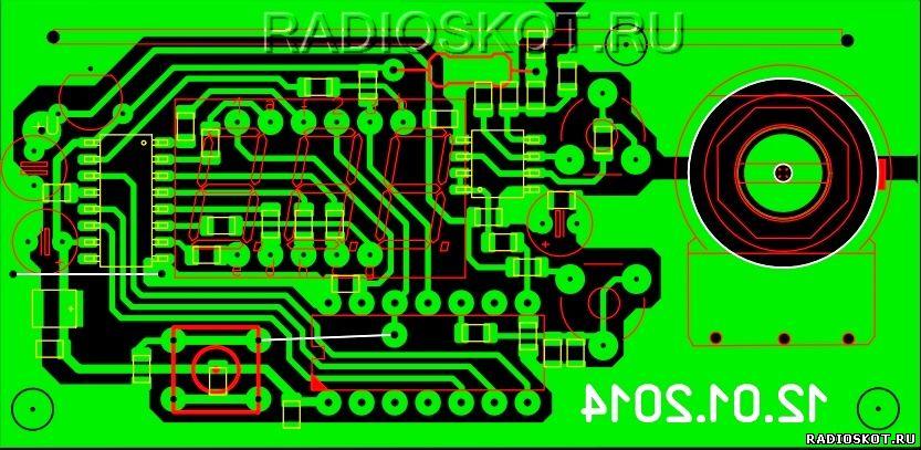 zu impulsnoe 12 2 - Схема импульсного зарядного устройства для акб