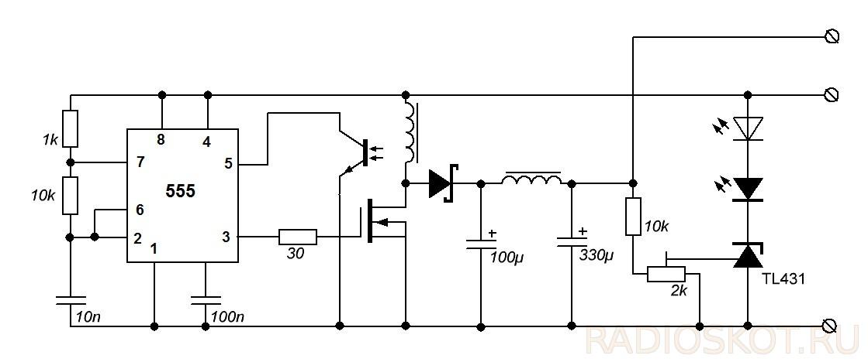 Микросхема источника тока