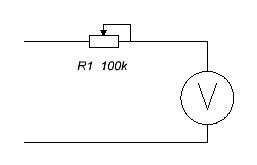 Подбор добавочного сопротивления – подходящий по мощности переменный резистор