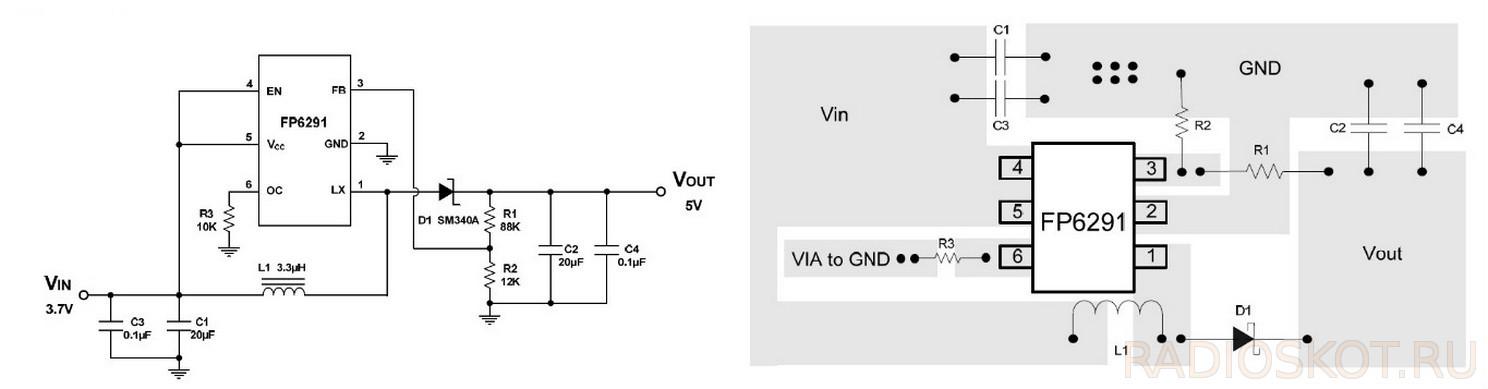 Схемы для авто dc-dc преобразователь