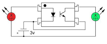 Оптронные схемы подключения