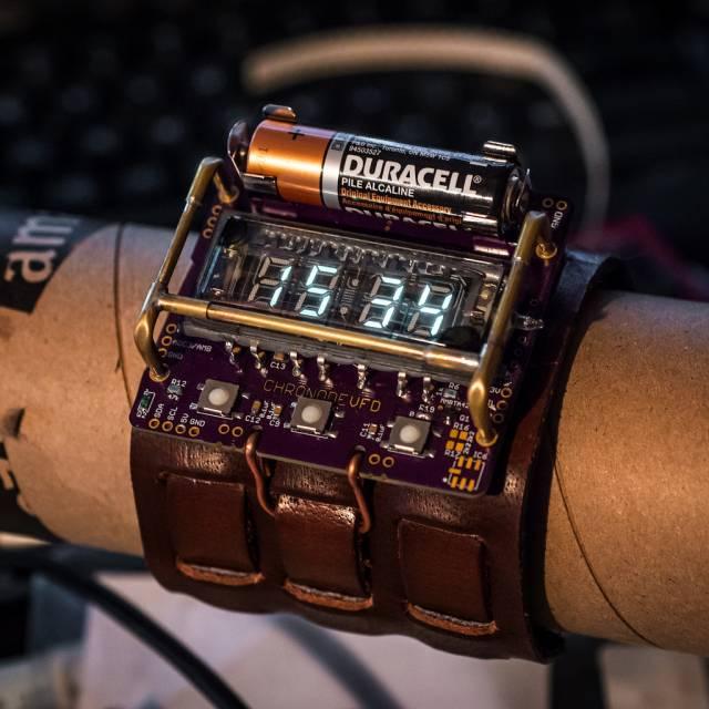 Наручные часы с своими руками