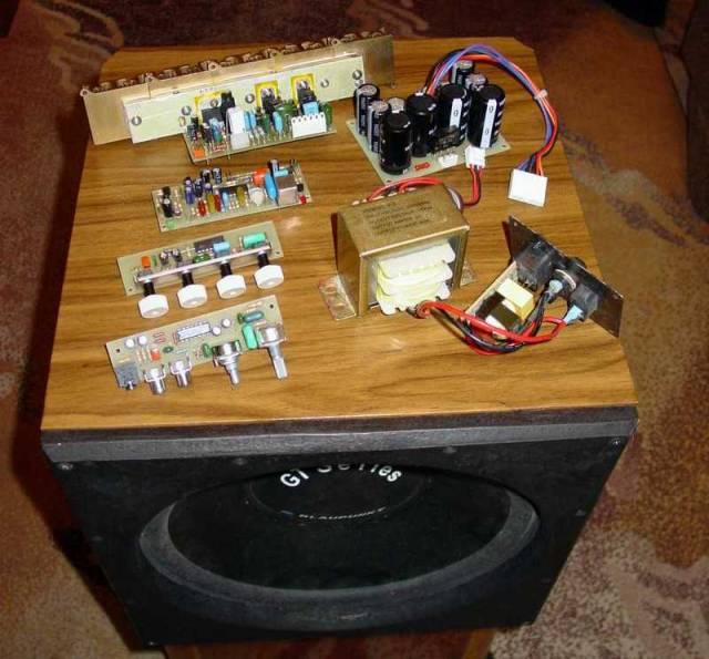Самодельный усилитель для звука