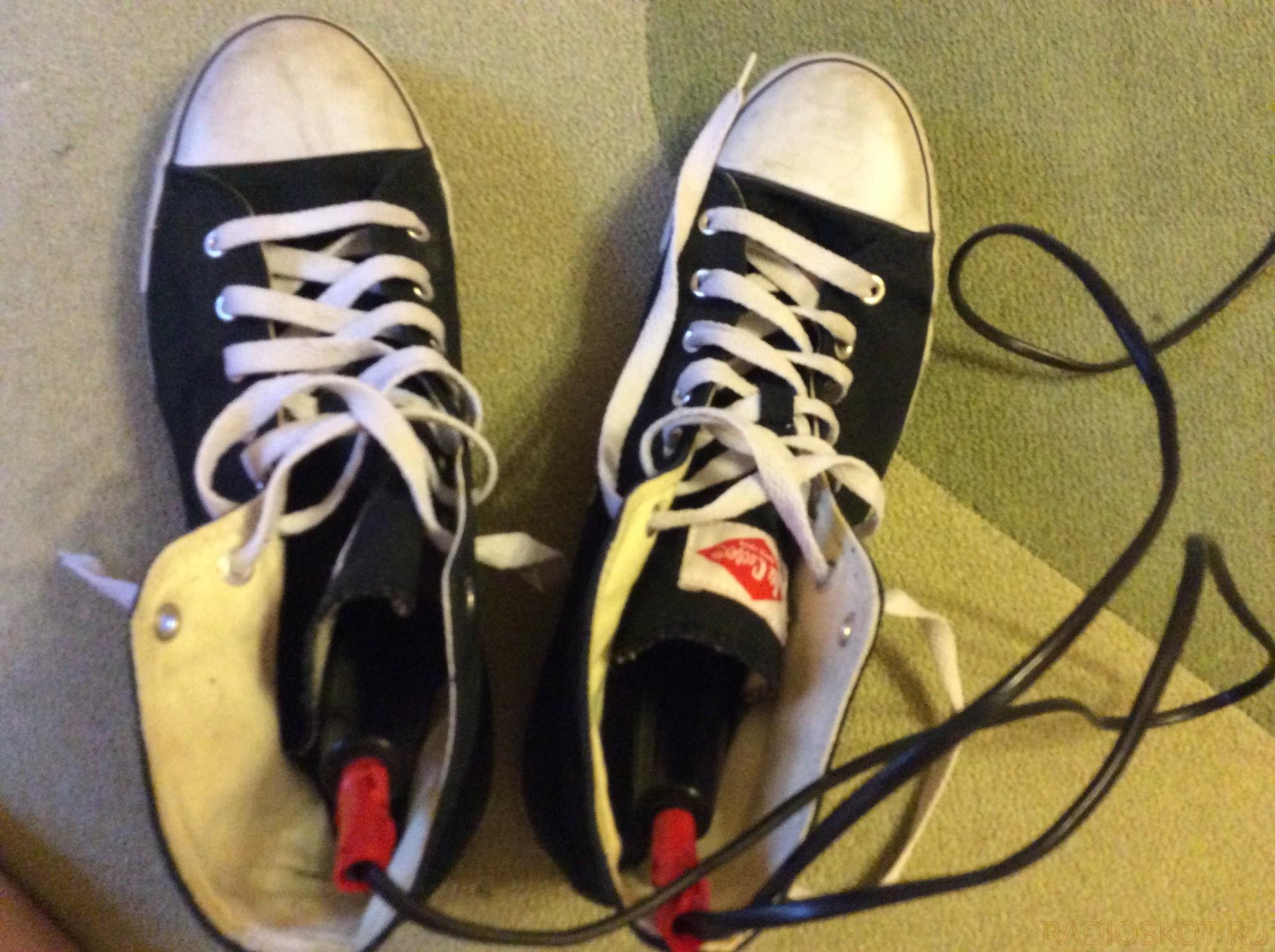 Электросушилки для обуви своими руками