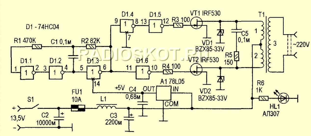 полевых транзисторов они