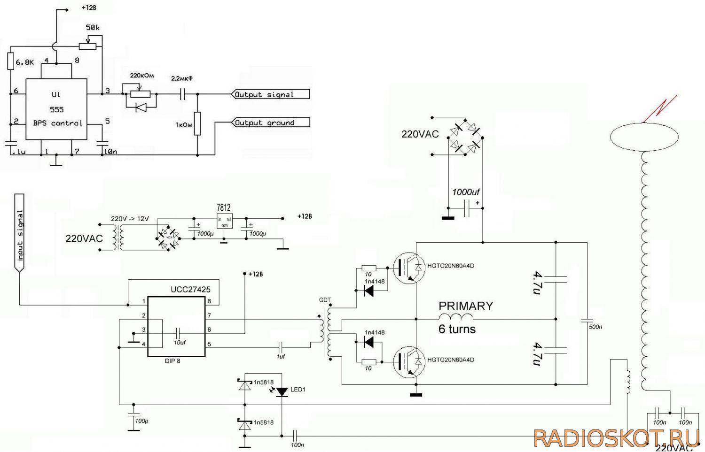 u0411u043bu043eu043a u0441u0445u0435u043cu0430 1114u0435u04434 (tl494 cn) diagram circuit.